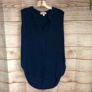 Anthropologie Clothe & Stone High Low Tunic Tank